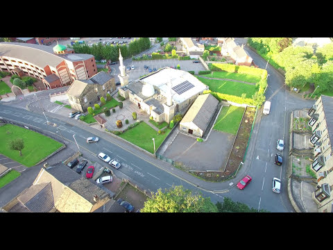4K - Mount pleasant batley / Madina Masjid / above Fox's Biscuits