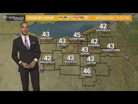 Afternoon weather forecast for Northeast Ohio: November 7, 2018