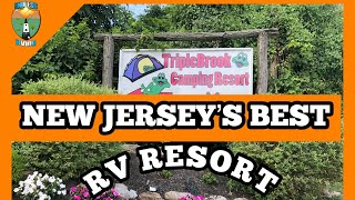 NEW JERSEY'S BEST Rν RESORT - TRIPLE BROOK CAMPGROUND