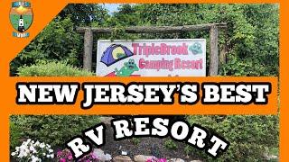 NEW JERSEY'S BEST RV RESORT - TRIPLE BROOK CAMPGROUND