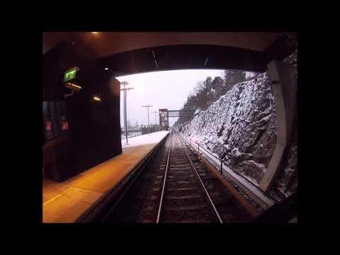 Helsinki Metro/Länsimetro. Mellunmäki-Tapiola. Ohjaamovideo (2018)