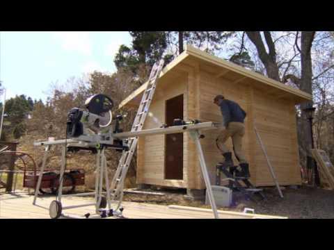 Bastustuga funkis 8m² - Äntligen hemma med Martin Timell