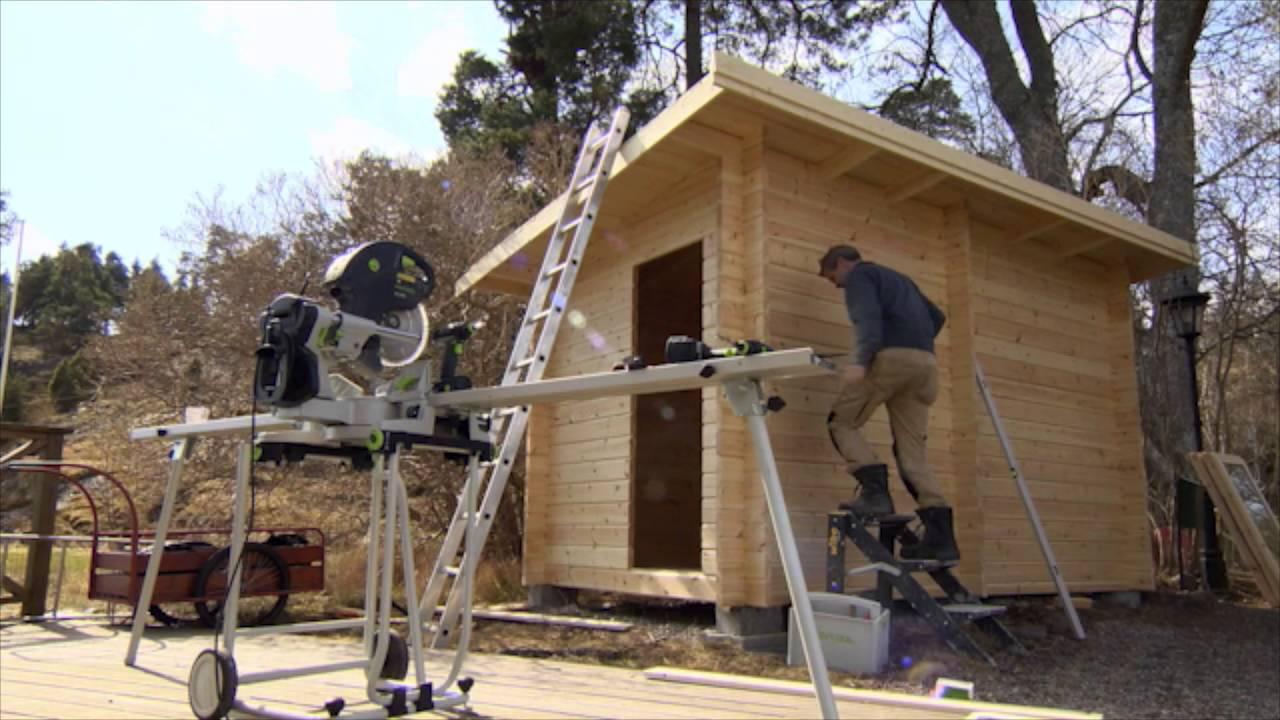 Bastustuga funkis 8m² - Äntligen hemma med Martin Timell - YouTube
