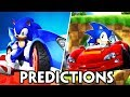 NEW STAGES, CHARACTERS AND NAME REVEAL?! Sonic Racing 2018 Predictions