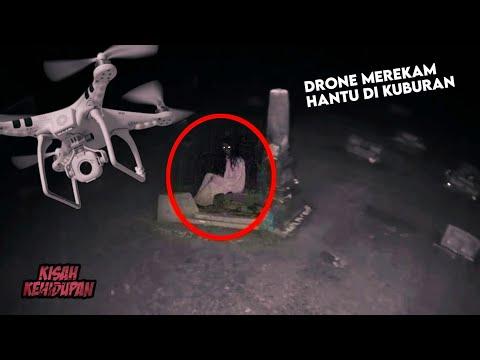 Terekam Drone..! 4 Penampakan Hantu Di Kuburan Yang Bikin Merinding