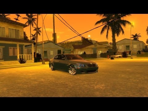 BMW M5 Grand Theft Auto IV: San Andreas HD