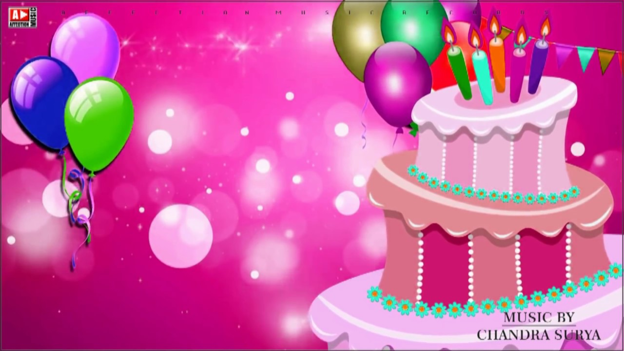 Happy Birthday Song Original Song Kids Baby Party