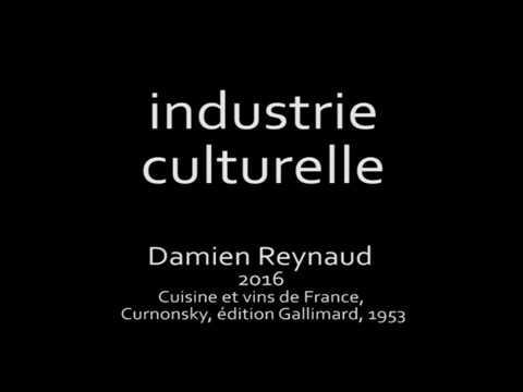 industrie culturelle (objet vidéo non identifié, série du poulet au curry)