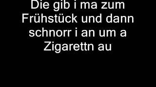 Wolfgang Ambros - De Kinettn wo i schlof (Lyrics)