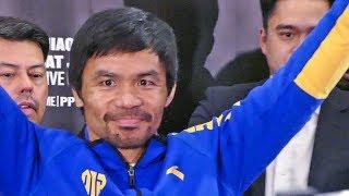 Manny Pacquiao GRAND ARRIVAL ! | MGM Grand, Las Vegas. | vs. Adrien Broner