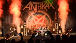 Anthrax live - Indians 4-22-17