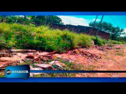 Sem asfalto, população de bairro araçatubense reclama de buracos