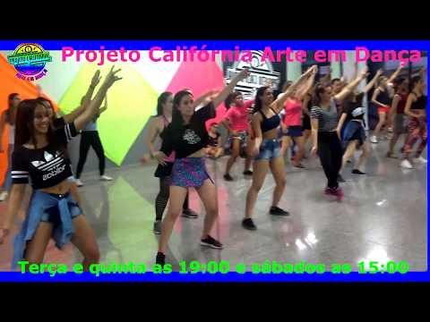 Dança do Krau - PSIRICO  Projeto Califórnia Arte em Dança