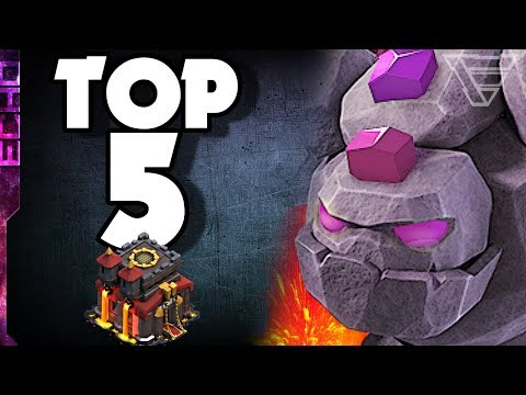 Top 5 BEST TH10 3 Star Attack Strategies In Clash Of Clans