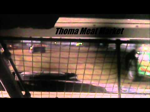 Stock Car Feature Mercer Raceway Park 6/21/14 IN-CAR