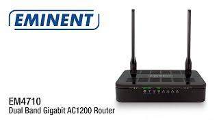 EM4710 Dual Band Gigabit AC1200 Router