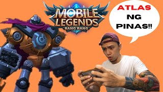 ATLAS ng PINGAS! | Try ko mag MOBILE LEGENDS | Josh On Point