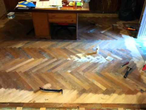 parquet en baton rompu youtube. Black Bedroom Furniture Sets. Home Design Ideas