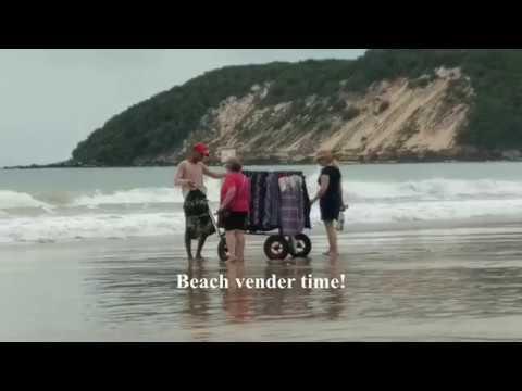 Natal, Brazil Beach Vendors