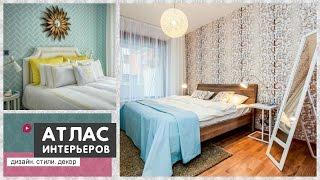 видео Комбинирование обоев в спальне