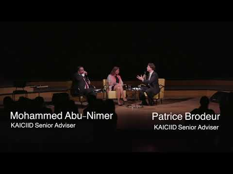 In the Spirit of Dialogue: Dr. Mohammed Abu-Nimer and Dr. Patrice Brodeur
