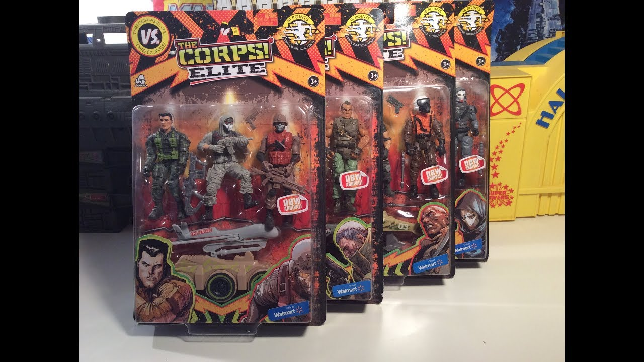 SHRAPNEL The Corps Elite New Arrivals IMPACT /& TITAN Lanard Toys NEW 2018