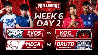 RoV Pro League Season 4 | Week 6 Day 2