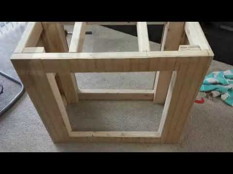 DIY - Make your Own Aquarium Stand (30-40 Gallon) - Cost and Material in Description