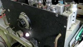 自作のST管5球スーパーラジオ(6WC5, 6D6, 6ZDH3, 42, 80)です。