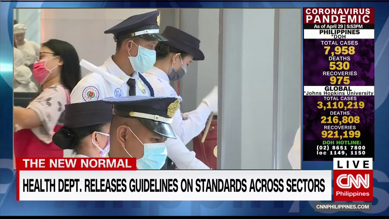 Health Department Releases Guidelines On Standards Across Sectors