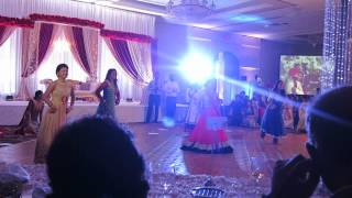 Bollywood/Bhangra dance at Avleen and Sudip