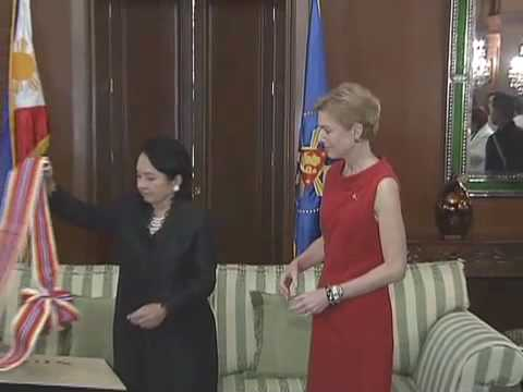 Farewell Call and Conferment of the Order of Sikatuna on H.E. Kristie Kenney