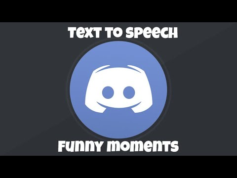 Funny Discord Text To Speech Moments #1