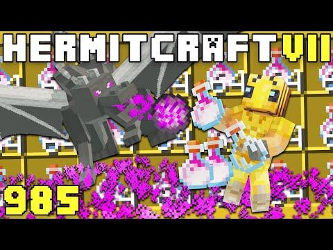 Hermitcraft VII 985 Automated Dragons Breath Farm