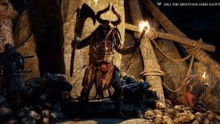 Ryse: Son of Rome - BOSS FIGHT How to kill Minotaur Chief Glott Walkthrough/Gameplay