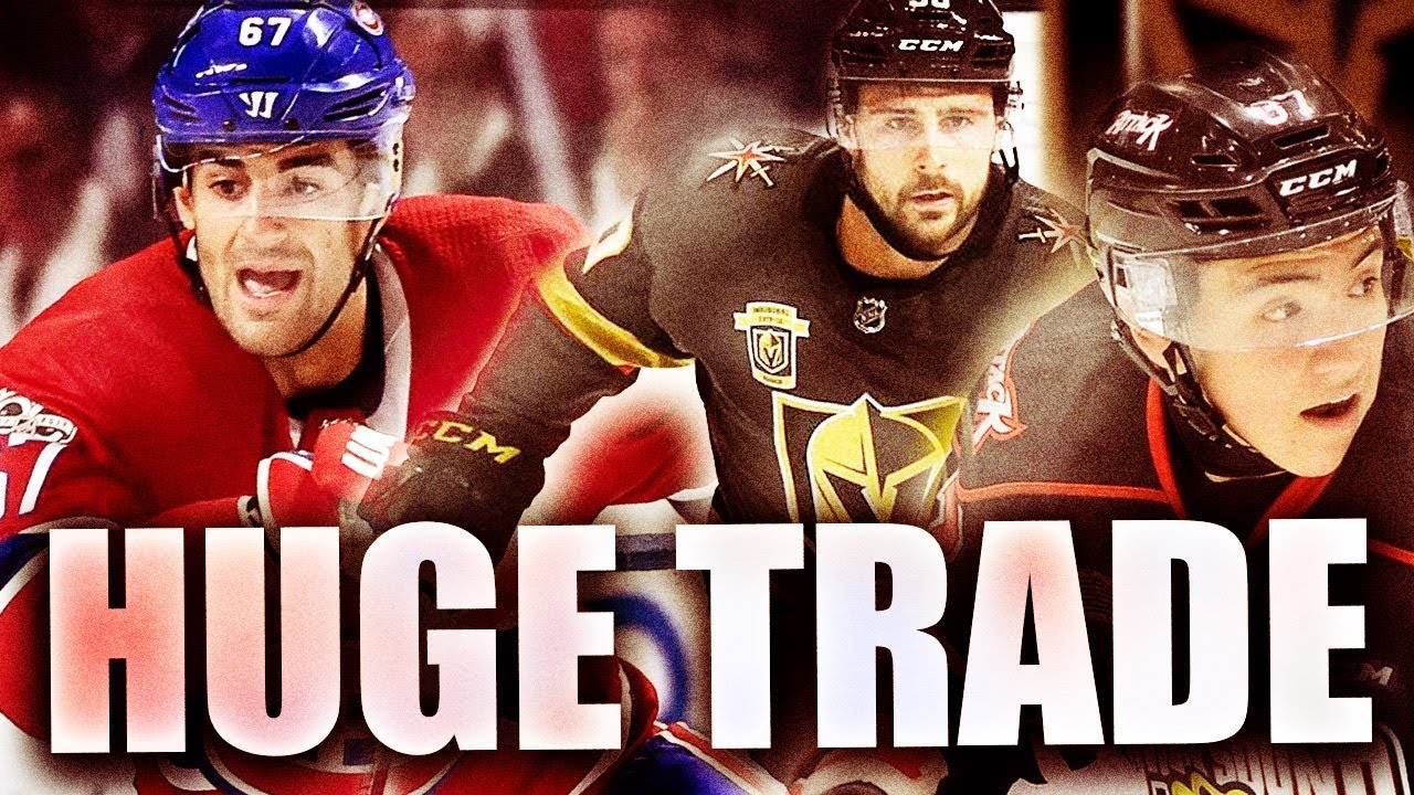Max Pacioretty Traded To Vegas Golden Knights For Tomas Tatar Nick Suzuki 2019 Second Round Pick Youtube