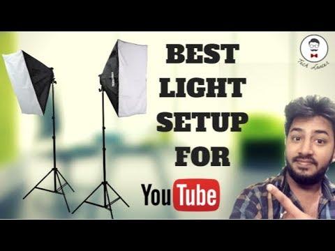 best cheap lighting setup for youtube video 2017 softbox light budget lighting for youtube
