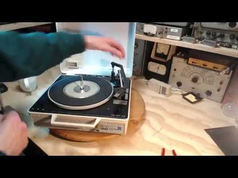 Emerson Swingmate Record Player Restoration