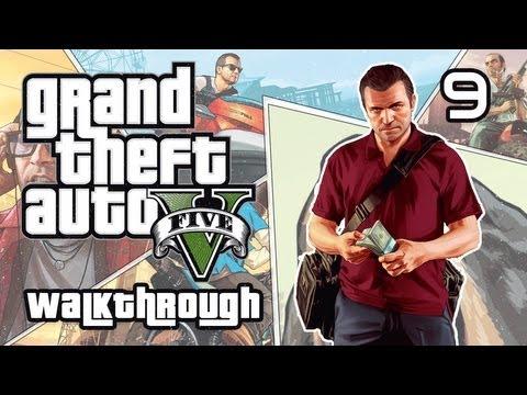Lets Play GTA V - Preparing for the Heist - Part 9
