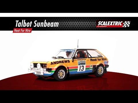 "SCALEXTRIC – Talbot Sunbeam ""Heat for Hire – Andrews"""