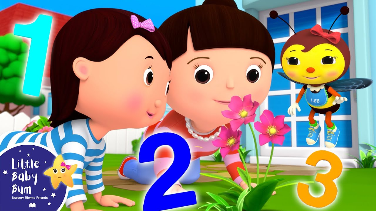 Learn to Count 1 2 3 - Babies Meditation | Little Baby Bum - New Nursery Rhymes for Kids