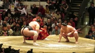 平成二十九年大相撲初場所四日目 十両 宇良-豊響.