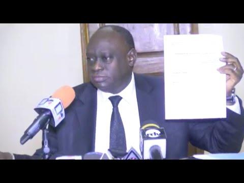 [DIRECT HD] Conférence de presse de Me El hadji Diouf