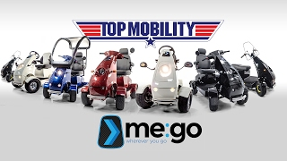 ME:GO German Electric Scooter - Only at Top Mobility