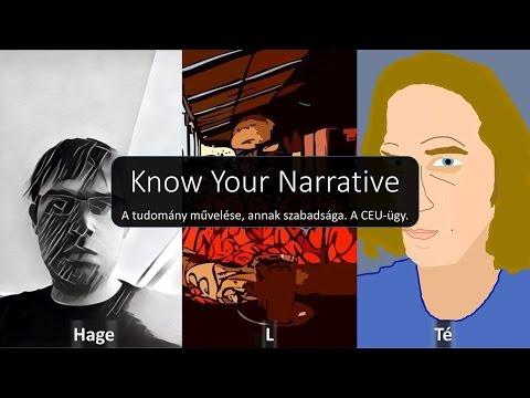 E005 (HU) A tudomány művelése, annak szabadsága, a CEU ügy - Know Your Narrative