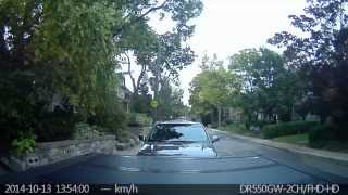 Parking Incident  October 13 2014