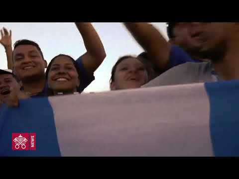 One day in 60 seconds: WYD Panama 2019.01.26
