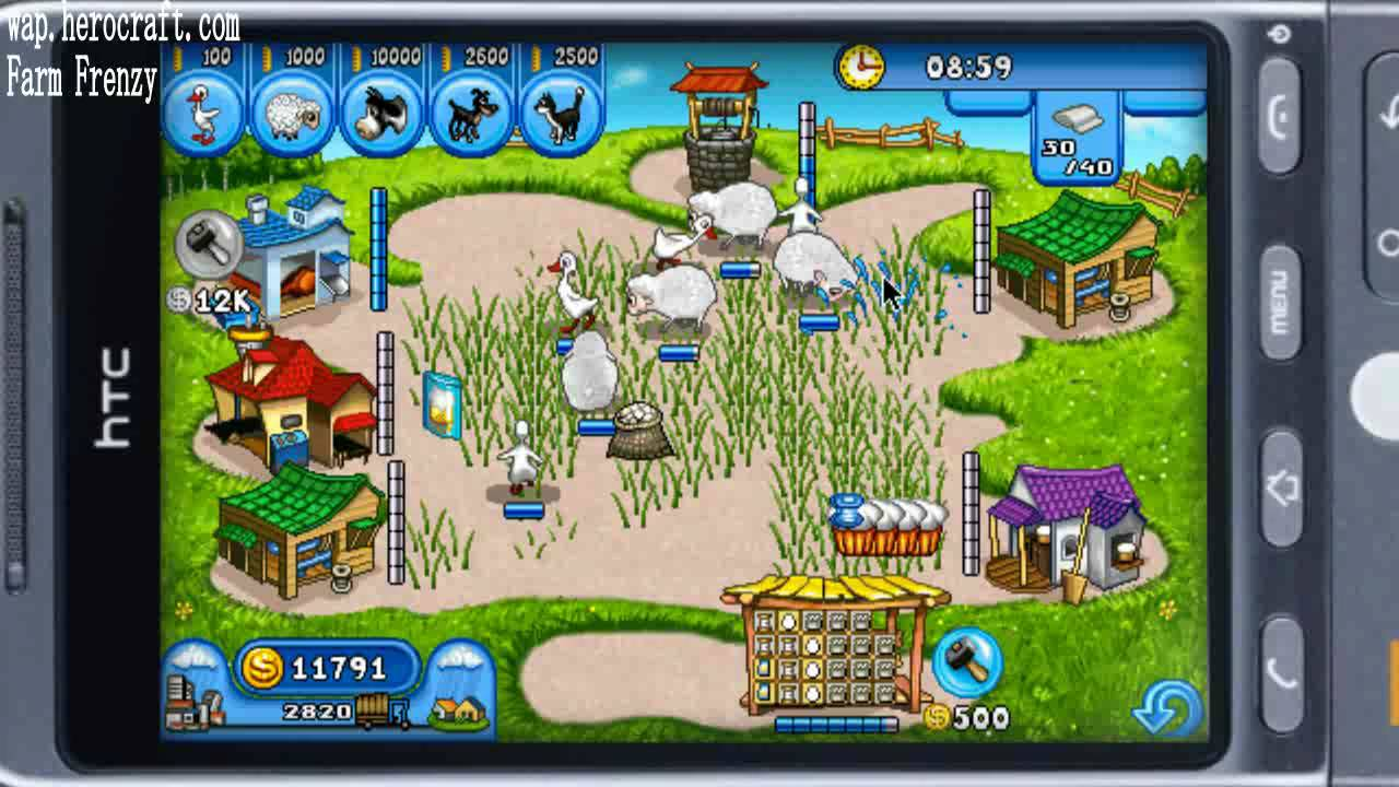 farm frenzy free time management game