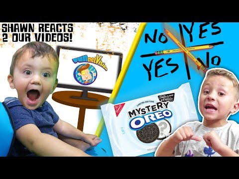 BABY REACTS 2 FUNnel Family VIDEOS & More! CHARLIE CHARLIE + Mystery Oreo Game FUNnel Family Vl