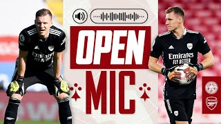 Bernd Leno | Open Mic | Leicester City vs Arsenal (1-3) | Compilation